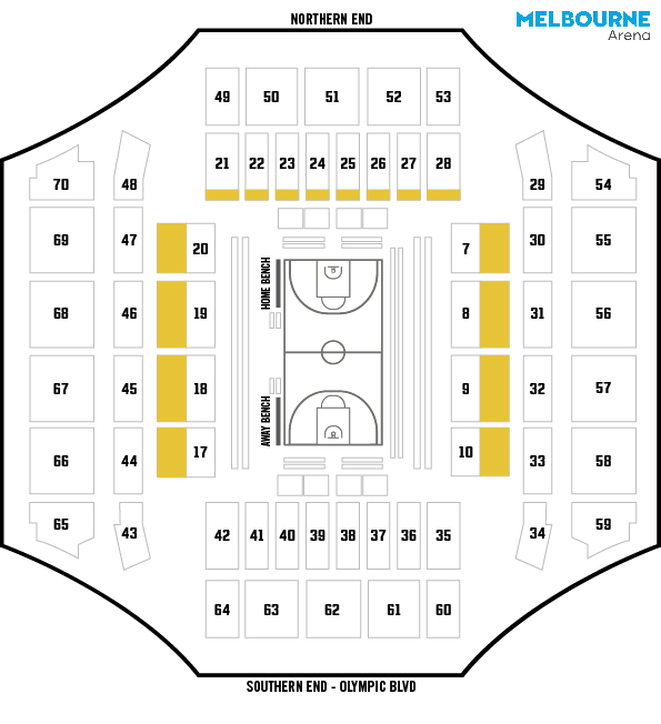 Gold Venue Map